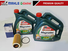 FOR FORD FOCUS MK2 ST 225 ST225 CASTROL MAGNATEC 5W30 8L OIL MAHLE OIL FILTER
