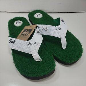 ⛳️RARE! Reef Mulligan II Flip Flops Golf Cameron Vokey Men's Size 12