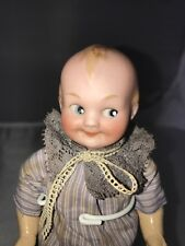"6"" Antique German Bisque Head Googly Doll A M 324!"