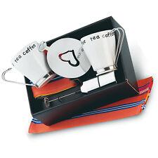 Cappuccino Caffè / Set da tè con ELETTRONICO Miscelatore, cotone tovaglioli+