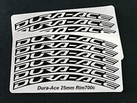Dura-Ace Shimano Wheel Decals / Stickers for 25mm - 30mm rims