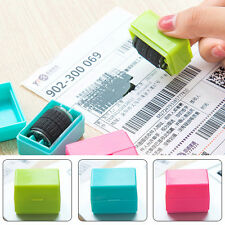 1Pc Self Inking Rolling Privacy Stamp ID Protection Security Confidential