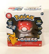Pokemon Trainer Guess Kanto Edition Electronic Guessing Game New