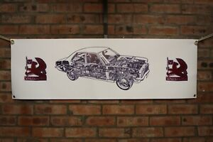 Vauxhall Victor FE VX4/90 FD  large pvc  WORK SHOP BANNER garage  SHOW BANNER