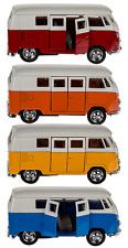 2-er set VW Bus Bulli T1 1:32  Modellauto ca.12cm von Kinsmart Neuware!