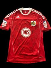 More details for match worn campbell-ryce signed 2010/2011 bristol city home shirt