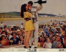 PAUL NEWMAN JOANNE WOODWARD BOB WAGNER INDY CAR RACING WINNING ORIG Photo #X266