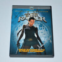TOMB RAIDER DVD MOVIES  Autograph ANGELINA & JON VOIGHT! Rare!