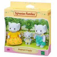SYLVANIAN FAMILIES 5376 ELEPHANT FAMILY (3 FIGURE) - KIDS TOY