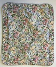 Laura Ashley Standard Padded Pillow Sham Quartet Sycamore Periwinkle Floral