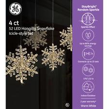 Ge Snowflake Lights Ebay