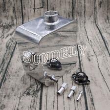 Universal Aluminium Alloy 2.5 Litre Header Expansion Water Tank & Cap Fitting