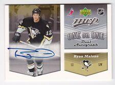 2006-07 NHL Upper Deck MVP Autographs # OA-MC Malone & Christensen / Autographed