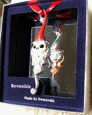 Disney Swarovski Jack / Sally ornament Reversible