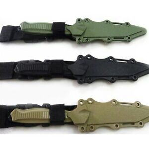 Safe 1: 1 Tactical Rubber Knife Military Training Enthusiasts CS Cosplay Toy Swo