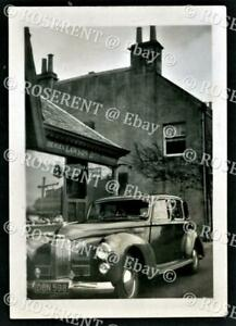 c1950s a Humber Super Snipe  - Saloon Motor Car - photo 8.5 by 6cm