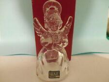 Mikasa Crystal Glass Christmas Ornament Heavenly Music Praying Angel