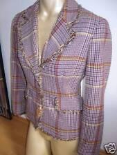 Sexy Blazer Tailliert Rosa Braun Edel von Bea Tricia Größe S