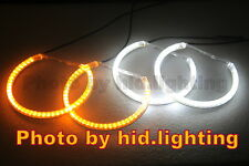 BMW LED Angel Eyes Halo Ring E46 Non-projector turn signal light amber DRL white