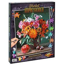 Malen nach Zahlen Herbstimpressionen 609130778 Schipper 40 x 50 cm Stilleben Neu