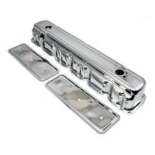 Chrome Valve Cover w/ Side Plate Straight 6 Cylinder 62-74 Chevy 194 230 250 292