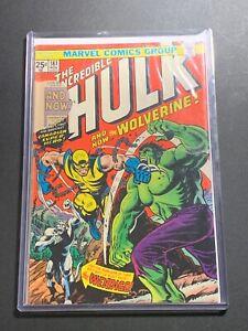 Incredible Hulk #181 (Marvel Comics 1974) 1st app of WOLVERINE MVS intact