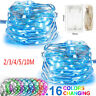 Waterproof 20-100 LED String Copper Wire Fairy Light Battery Powered Party Decor