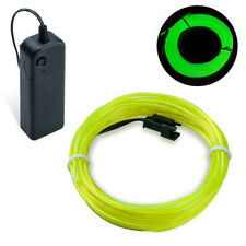 2m Fluorescence Green EL Wire Party Halloween Christmas Neon Glow Strobe Light