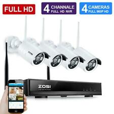 ZOSI HD 4CH Wireless 960P NVR Outdoor indoor WIFI IP Camera CCTV Security System