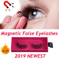 Magnetic Liquid Eyeliner Gel False Eyelashes Perfect 3D Eye Lashes Set UK AN