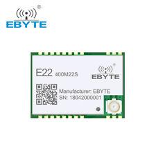 SX1268 Lora E22-400M22S 433MHz 22dBm 6500m SPI SMD IPEX Wireless RF Transceiver