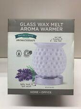 NEW! Nature's Truth Aromatherapy Glass Wax Melt Aroma Warmer