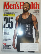 Men's Health Magazine Usher & The 25th Anniversary November 2013 020415R
