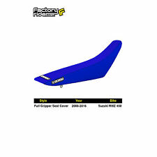 2008-2017 SUZUKI RMZ 450 All Blue FULL GRIPPER SEAT COVER BY Enjoy MFG