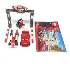 Disney LEGO toys CARS vehicle & mini figure playset set, near complete + extra