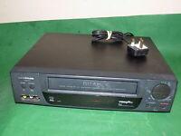 GOODMANS VN9000 Video Cassette Recorder VHS Smart VCR Black Slim FULLY TESTED