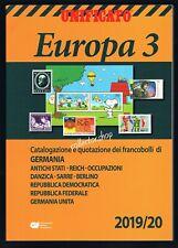 UNIFICATO EUROPA 2019-20 VOLUME 3 - CATALOGO PER FRANCOBOLLI DELLA GERMANIA