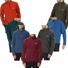 New Regatta Mens Kenger Polyester Half Zip Neck Honeycomb Fleece Jacket S-3XL