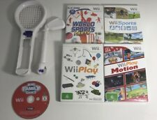 NINTENDO WII + U BULK FAMILY & KIDS LOT + ACCESSORIES - 58 GAMES - PACKAGE DEAL!