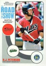 2014 Topps Heritage Minors Road To The Show #RTTS-DP D.J. Peterson NM-MT