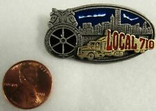 I.B.T. Teamster Local 710  hat/lapel pin