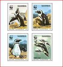 NAM015N 4 penguins, WWF