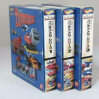 【NOS】Thunderbirds Container Mecha Series Vol1-3 Gerry Anderson Carlton Bandai
