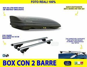Proposteonline portabagagli Box Tetto Auto 177 x 93 x 37 cm per Seat Altea XL 2006  con Barre Portapacchi portatutto wm59qa