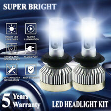 H7 LED Headlight Bulb Driving Lamp Conversion Kit 1600W 230000LM Hi Lo Beam
