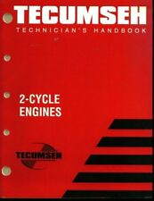 B000BPYGP4 Tecumseh Technicians Handbook 2 Cycle Engine