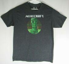 Minecraft Mojang Jinx T-Shirt Size XL XLarge Dark Heather Grey