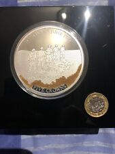 silver proof five crown