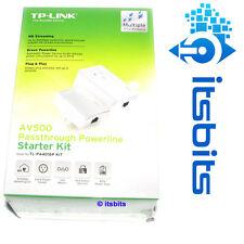 TP-LINK TL-PA4016P KIT AV500 PASSTHROUGH POWERLINE STARTER KIT PA411 & PA4010P