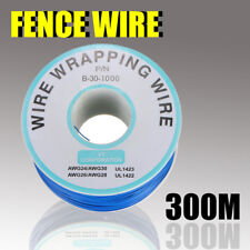 FM_ 300M WIRE CABLE FOR PET FENCE DOG PUPPY UNDERGROUND ELECTRIC SHOCK TRAINING